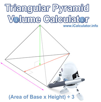 Triangular Pyramid Volume Calculator. Calculate the volume of a triangular pyramid online