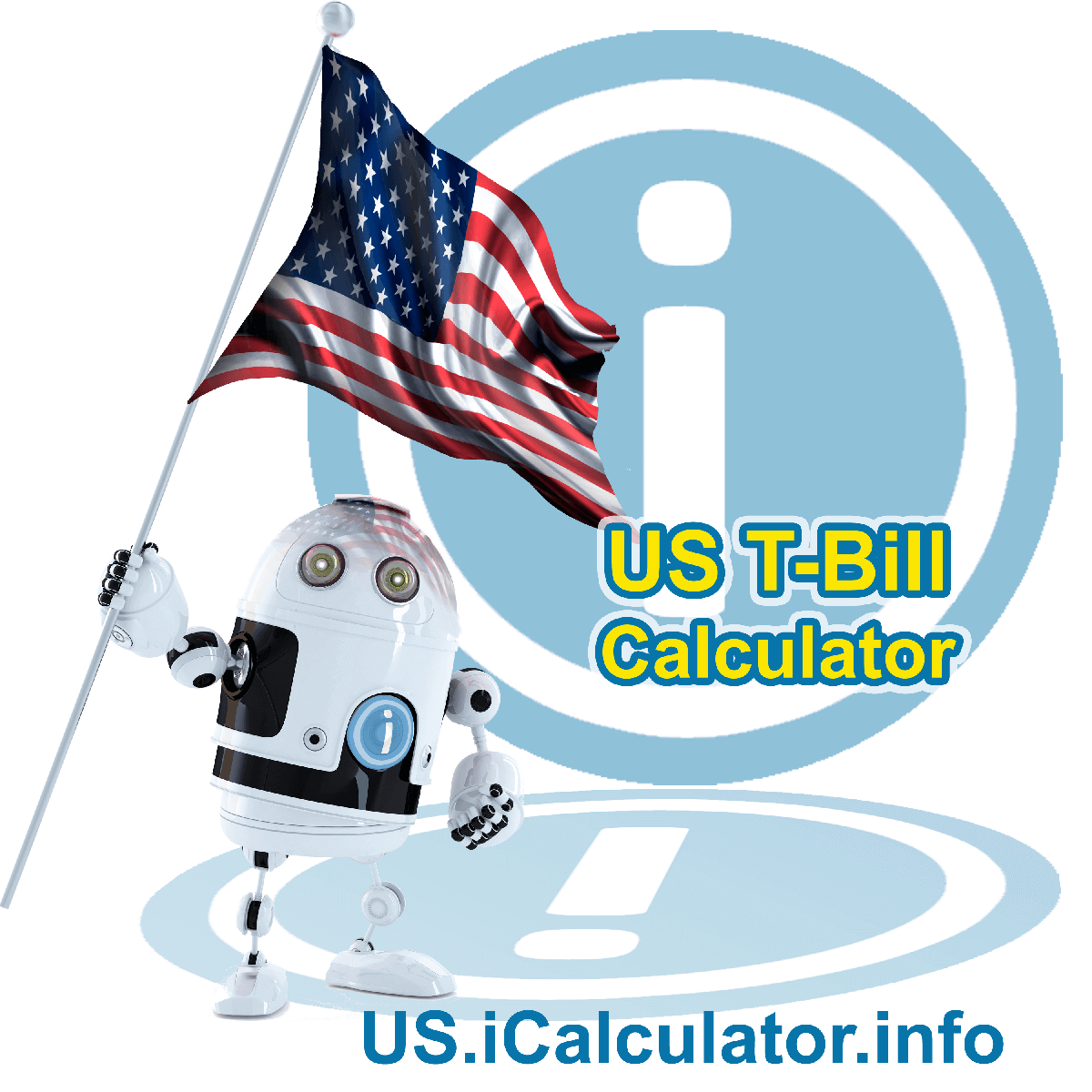 US T-Bill Calculator will calculate the 3 monthly interest on a Treasury Bill, the annual interest on a T-bill and other T-bill periods depending on the duration of the T-bill bond, the face value and the amount paid for the T-bill during the auction process.