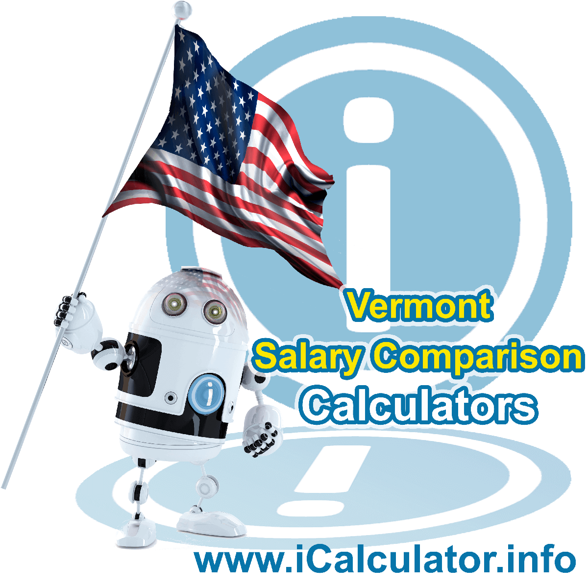 Vermont Salary Comparison Calculator 2021 | iCalculator™ | The Vermont Salary Comparison Calculator allows you to quickly calculate and compare upto 6 salaries in Vermont or between other states for the 2021 tax year and historical tax years. Its an excellent tool for jobseekers, pay raise comparison and comparison of salaries between different US States