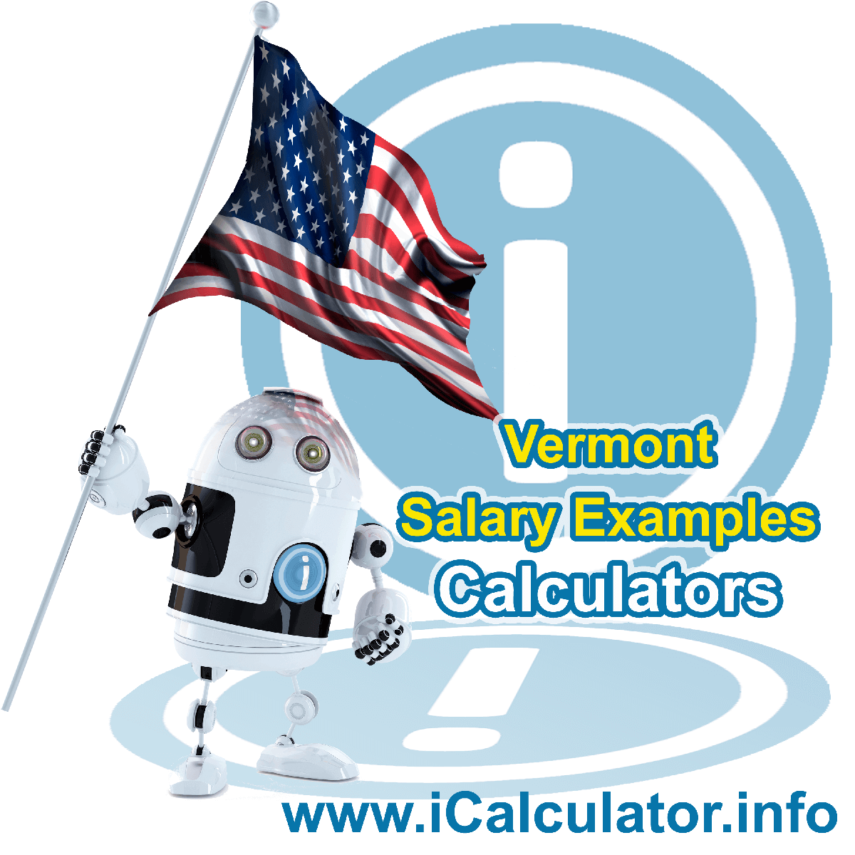 Vermont Salary Example for a $130.00 Annual Salary in 2019 | iCalculator | $130.00 salary example for employee and employer paying Vermont State tincome taxes. Detailed salary after tax calculation including Vermont State Tax, Federal State Tax, Medicare Deductions, Social Security, Capital Gains and other income tax and salary deductions complete with supporting Vermont state tax tables