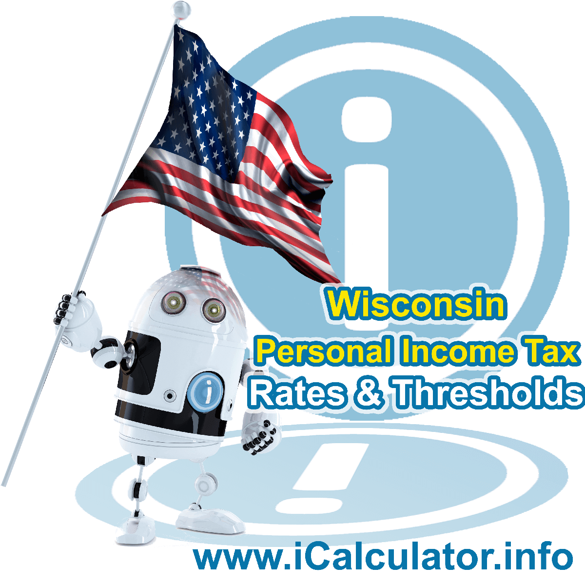 Wisconsin State Tax Tables 2019. This image displays details of the Wisconsin State Tax Tables for the 2019 tax return year which is provided in support of the 2019 US Tax Calculator