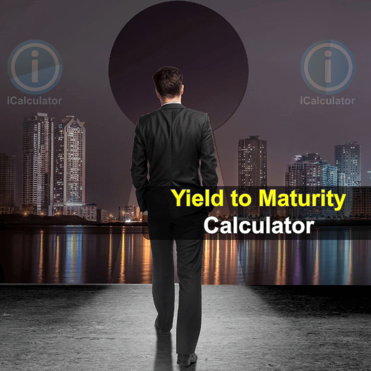 Yield to Maturity Calculator. This image provides details of how to calculate Yield to Maturity using a calculator and notepad. By using the Yield to Maturity formula, the Yield to Maturity Calculator provides a true calculation of the rate of return on long term or a fixed rate security investments